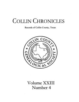 Primary view of object titled 'Collin Chronicles, Volume 23, Number 4, 2002/2003'.