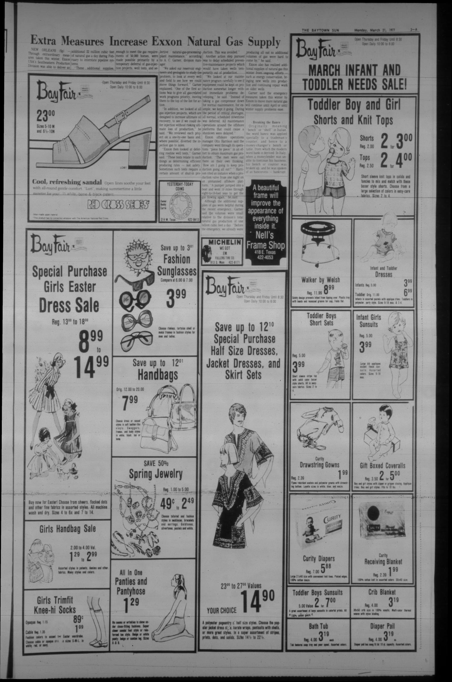 The Baytown Sun (Baytown, Tex.), Vol. 55, No. 136, Ed. 1 Monday, March 21, 1977                                                                                                      [Sequence #]: 3 of 17