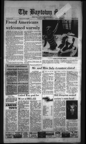 The Baytown Sun (Baytown, Tex.), Vol. 63, No. 207, Ed. 1 Monday, July 1, 1985