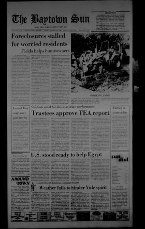 The Baytown Sun (Baytown, Tex.), Vol. 64, No. 22, Ed. 1 Tuesday, November 26, 1985