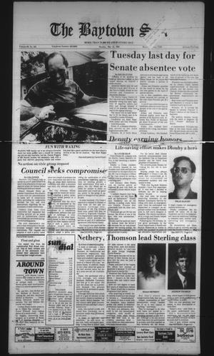 The Baytown Sun (Baytown, Tex.), Vol. 63, No. 165, Ed. 1 Monday, May 13, 1985