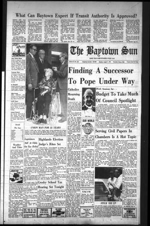 The Baytown Sun (Baytown, Tex.), Vol. 56, No. 258, Ed. 1 Monday, August 7, 1978