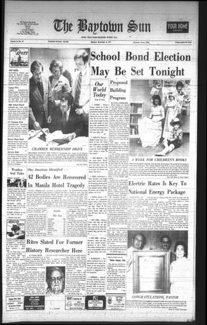 The Baytown Sun (Baytown, Tex.), Vol. 56, No. 30, Ed. 1 Monday, November 14, 1977