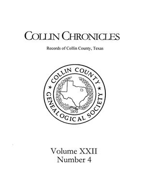 Primary view of object titled 'Collin Chronicles, Volume 22, Number 4, 2001/2002'.