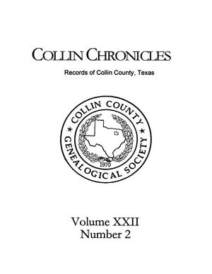 Primary view of object titled 'Collin Chronicles, Volume 22, Number 2, 2001/2002'.