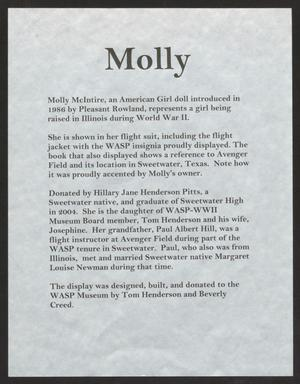 [Molly, American Girl Doll #2]