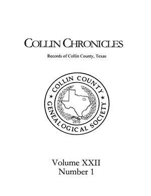 Primary view of Collin Chronicles, Volume 22, Number 1, 2001/2002