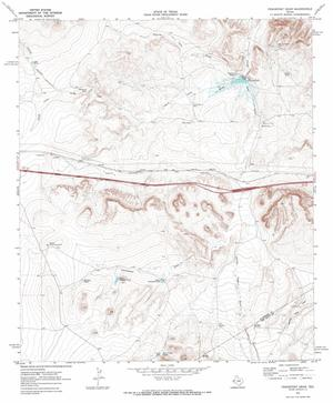 Primary view of object titled 'Fencepost Draw Quadrangle'.
