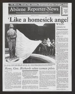 "Primary view of object titled '[Clipping: ""'Like a Homesick Angel'""]'."