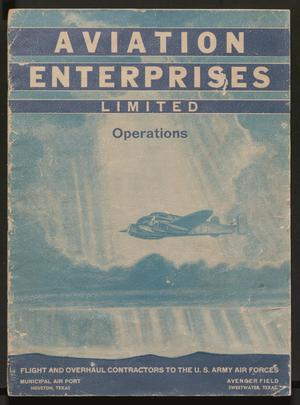Primary view of object titled '[Aviation Enterprises Limited Operations]'.