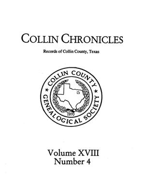 Primary view of object titled 'Collin Chronicles, Volume 18, Number 4, Summer 1997/8'.