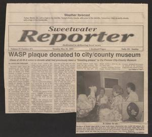 [Clipping: WASP Plaque Donated to City/County Museum]