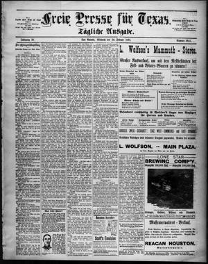Primary view of Freie Presse für Texas. (San Antonio, Tex.), Vol. 30, No. 3941, Ed. 1 Wednesday, February 20, 1895
