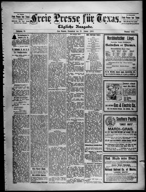 Primary view of Freie Presse für Texas. (San Antonio, Tex.), Vol. 38, No. 6315, Ed. 1 Saturday, January 31, 1903