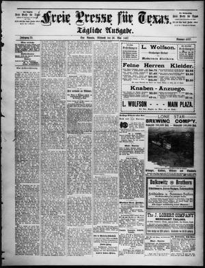 Primary view of Freie Presse für Texas. (San Antonio, Tex.), Vol. 32, No. 4637, Ed. 1 Wednesday, May 26, 1897