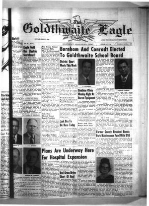 The Goldthwaite Eagle (Goldthwaite, Tex.), Vol. 65, No. 41, Ed. 1 Thursday, April 7, 1960