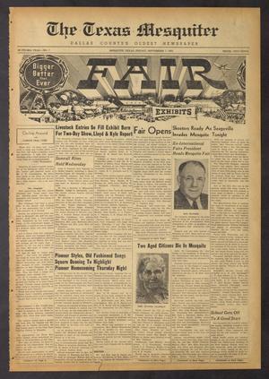 The Texas Mesquiter (Mesquite, Tex.), Vol. 69, No. 7, Ed. 1 Friday, September 7, 1951