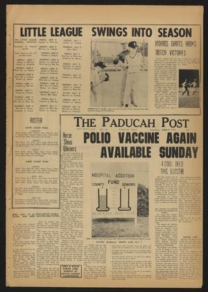 The Paducah Post (Paducah, Tex.), Vol. 59, No. 12, Ed. 1 Thursday, June 10, 1965
