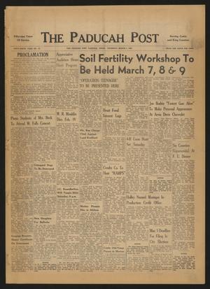 The Paducah Post (Paducah, Tex.), Vol. 59, No. 50, Ed. 1 Thursday, March 3, 1966