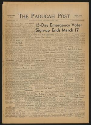 The Paducah Post (Paducah, Tex.), Vol. 59, No. 51, Ed. 1 Thursday, March 10, 1966