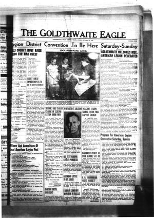 Primary view of object titled 'The Goldthwaite Eagle (Goldthwaite, Tex.), Vol. 50, No. 9, Ed. 1 Friday, October 22, 1943'.