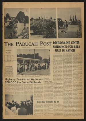 The Paducah Post (Paducah, Tex.), Vol. 59, No. 11, Ed. 1 Thursday, June 3, 1965