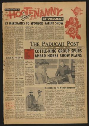 The Paducah Post (Paducah, Tex.), Vol. 58, No. 52, Ed. 1 Thursday, March 18, 1965