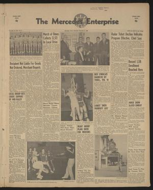 Primary view of object titled 'The Mercedes Enterprise (Mercedes, Tex.), Vol. 45, No. 6, Ed. 1 Thursday, February 11, 1960'.