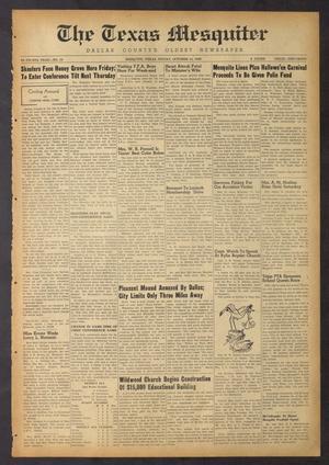 The Texas Mesquiter (Mesquite, Tex.), Vol. 67, No. 18, Ed. 1 Friday, October 14, 1949