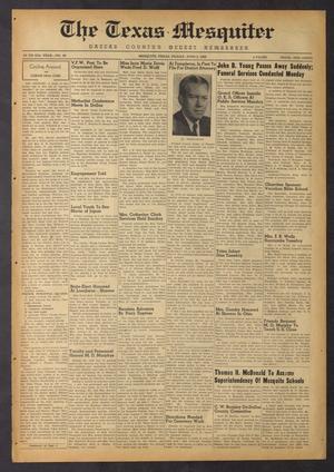 The Texas Mesquiter (Mesquite, Tex.), Vol. 67, No. 48, Ed. 1 Friday, June 2, 1950