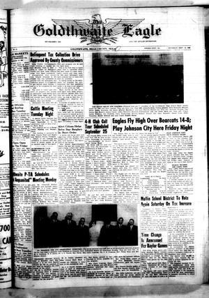 The Goldthwaite Eagle (Goldthwaite, Tex.), Vol. 71, No. 14, Ed. 1 Thursday, September 16, 1965