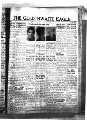 Primary view of object titled 'The Goldthwaite Eagle (Goldthwaite, Tex.), Vol. 50, No. 7, Ed. 1 Friday, October 8, 1943'.