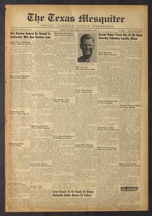 The Texas Mesquiter (Mesquite, Tex.), Vol. 67, No. 33, Ed. 1 Friday, February 10, 1950