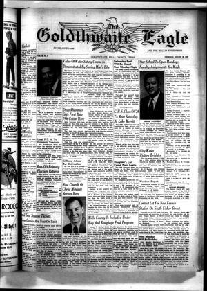 The Goldthwaite Eagle (Goldthwaite, Tex.), Vol. 64, No. 2, Ed. 1 Thursday, August 30, 1956