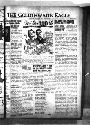 The Goldthwaite Eagle (Goldthwaite, Tex.), Vol. 51, No. 12, Ed. 1 Friday, November 24, 1944