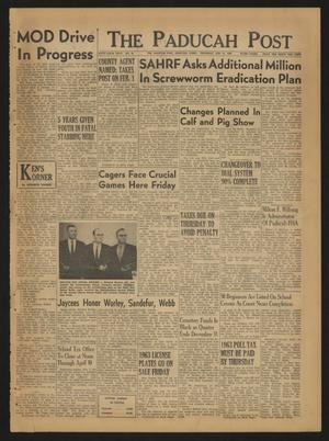 The Paducah Post (Paducah, Tex.), Vol. 56, No. 45, Ed. 1 Thursday, January 31, 1963