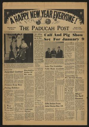 The Paducah Post (Paducah, Tex.), Vol. 58, No. 41, Ed. 1 Thursday, December 31, 1964