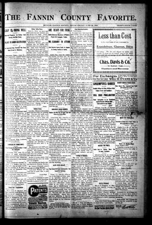 The Fannin County Favorite. (Bonham, Tex.), Vol. 35, No. [12], Ed. 1 Friday, June 28, 1907