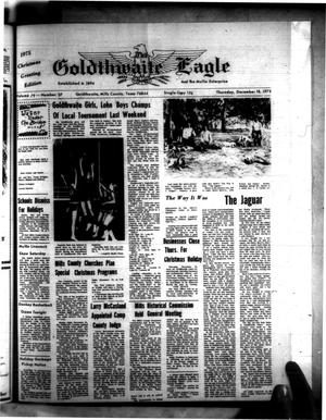 Primary view of object titled 'The Goldthwaite Eagle (Goldthwaite, Tex.), Vol. 79, No. 37, Ed. 1 Thursday, December 18, 1975'.