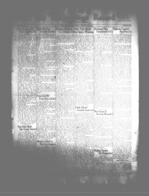 The Rocksprings Record and Edwards County Leader (Rocksprings, Tex.), Vol. [16], No. [5], Ed. 1 Friday, January 5, 1934