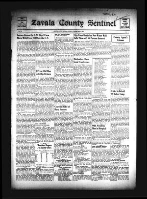 Zavala County Sentinel (Crystal City, Tex.), Vol. 30, No. 1, Ed. 1 Friday, May 9, 1941