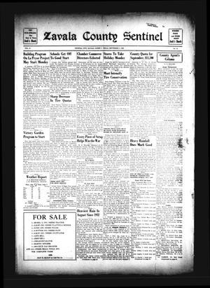 Primary view of Zavala County Sentinel (Crystal City, Tex.), Vol. 31, No. 19, Ed. 1 Friday, September 4, 1942
