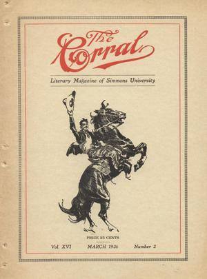 The Corral, Volume 16, Number 2, March 1926