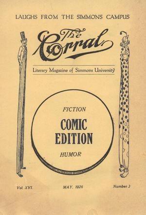 Primary view of object titled 'The Corral, Volume 16, Number 3, May, 1926'.