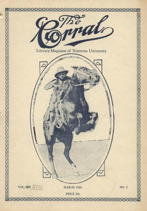 The Corral, Volume 18, Number 2, March 1928