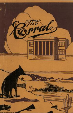 Primary view of object titled 'The Corral, Volume 19, Number 1, December 1928'.