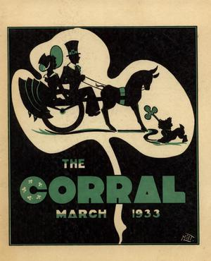 Primary view of object titled 'The Corral, Volume [23], Number 2, March, 1933'.