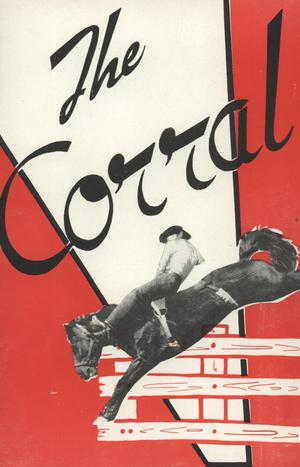 Primary view of object titled 'The Corral, Volume 2, Number 1, Winter 1951'.