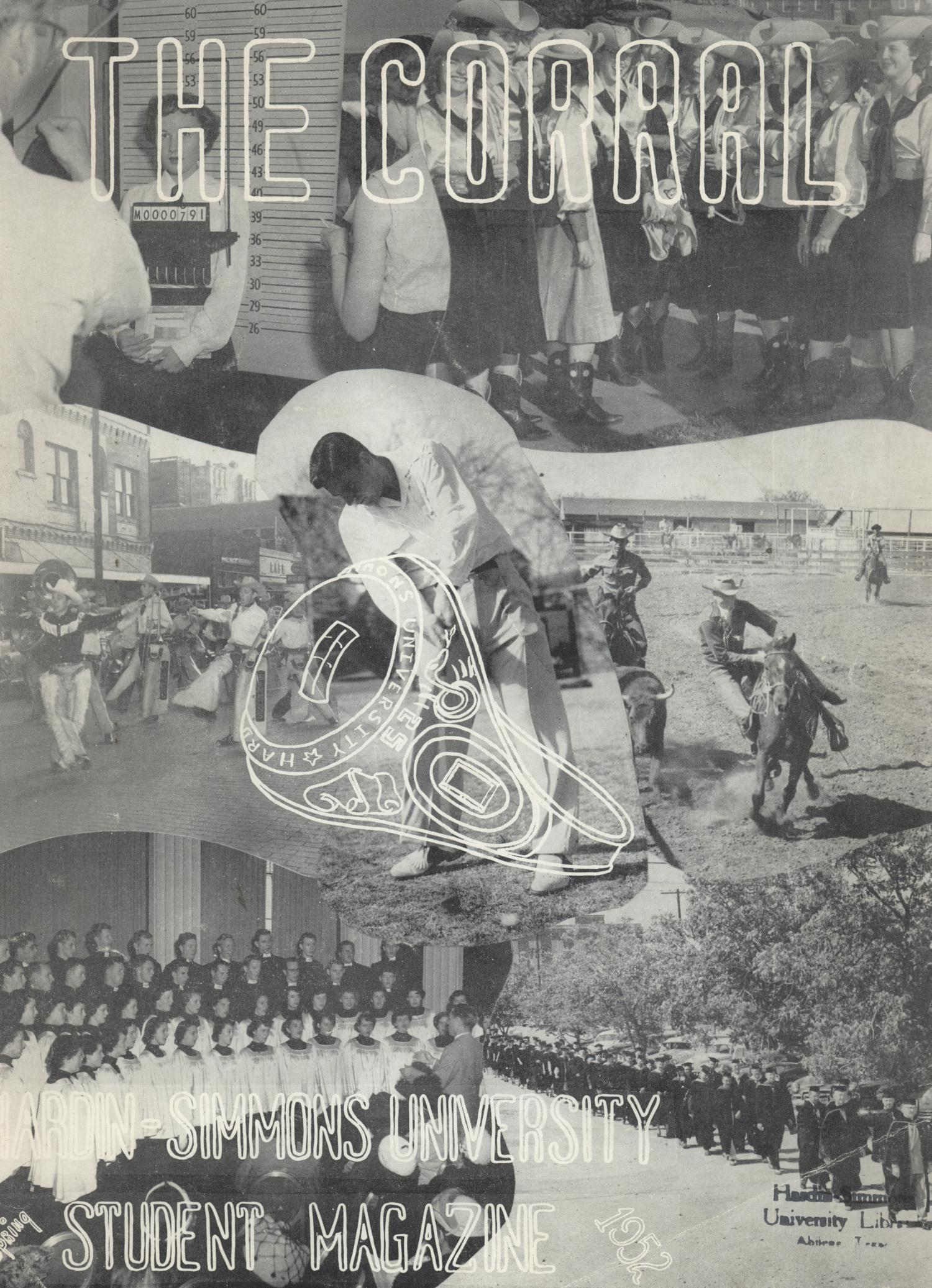 The Corral, Volume 3, Number 2, Spring 1952                                                                                                      Front Cover