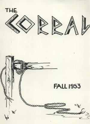 Primary view of object titled 'The Corral, Volume 5, Number 1, Fall 1953'.